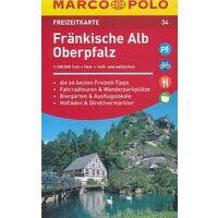 Marco Polo Wegenkaart FZK 34 Fränkische Alb Opberpfalz