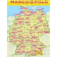 Marco Polo Wegenkaart FZK07 Hamburg - Lubeck Und Umgebung