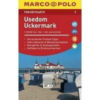 Marco Polo Wegenkaart FZK09 Usedom, Uckermarck