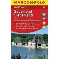 Marco Polo Wegenkaart FZK17 Sauerland - Siegerland
