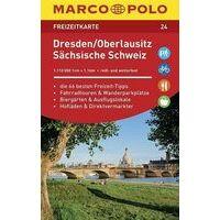 Marco Polo Wegenkaart FZK24 Dresden, Oberlausitz