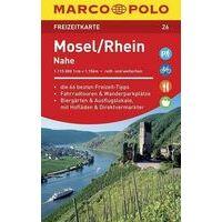 Marco Polo Wegenkaart FZK26 Mosel -  Rhein