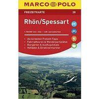 Marco Polo Wegenkaart FZK28 Rhön Spessart