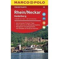 Marco Polo Wegenkaart FZK35 Rhein Neckar