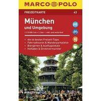 Marco Polo Wegenkaart FZK43 München Und Umgebung