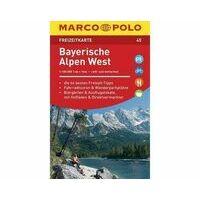 Marco Polo Wegenkaart FZK45 Bayerische Alpen West