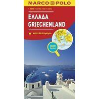 Marco Polo Wegenkaart Griekenland