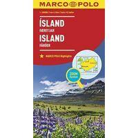 Marco Polo Wegenkaart IJsland