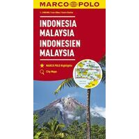 Marco Polo Wegenkaart Indonesië - Maleisië