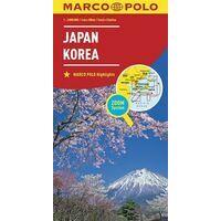 Marco Polo Wegenkaart Japan, Korea
