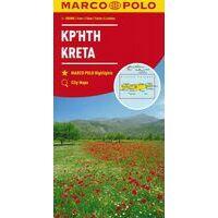Marco Polo Wegenkaart Kreta