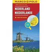 Marco Polo Wegenkaart Nederland