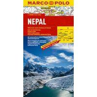 Marco Polo Wegenkaart Nepal