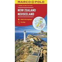 Marco Polo Wegenkaart Nieuw-Zeeland