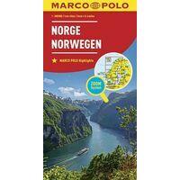 Marco Polo Wegenkaart Noorwegen