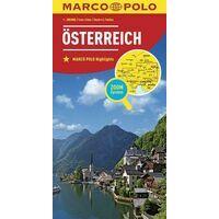 Marco Polo Wegenkaart Oostenrijk