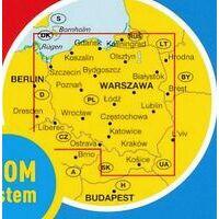 Marco Polo Wegenkaart Polen