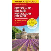 Marco Polo Wegenkaart Provence - Cote D'Azur