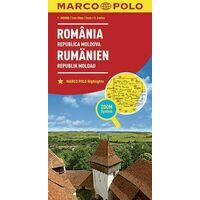 Marco Polo Wegenkaart Roemenië & Moldavië 1:800.000