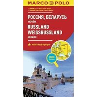 Marco Polo Wegenkaart Rusland, Wit-Rusland & Oekraïne