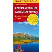 Marco Polo Wegenkaart Slowakije