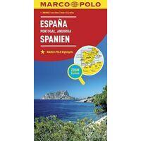 Marco Polo Wegenkaart Spanje & Portugal