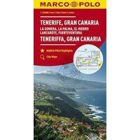 Marco Polo Wegenkaart Tenerife Gran Canaria