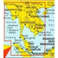 Marco Polo Wegenkaart Thailand - Vietnam