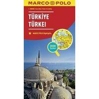Marco Polo Wegenkaart Turkije