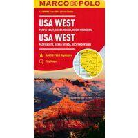 Marco Polo Wegenkaart USA West Verenigde Staten