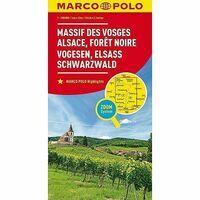 Marco Polo Wegenkaart Vogezen - Elzas - Zwarte Woud