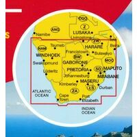 Marco Polo Wegenkaart Zuid-Afrika - Namibië - Botswana