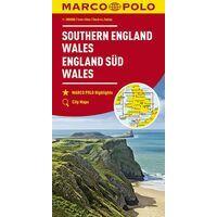 Marco Polo Wegenkaart Zuid-Engeland - Wales