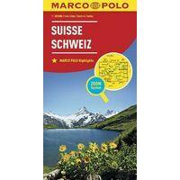 Marco Polo Wegenkaart Zwitserland 1:303.000