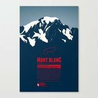 Marmota Maps Alpine Mountain Print Mont Blanc