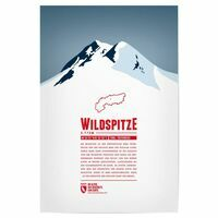 Marmota Maps Alpine Mountain Print Wildspitze