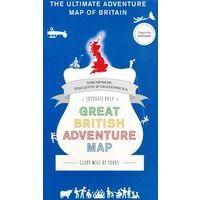 Marvellousmaps Great British Adventure Map