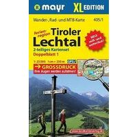 Mayr Wandelkaarten Set 405 Tiroler Lechtal