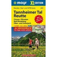 Mayr Wandelkaart 409 Tannheimertal & Reute XL