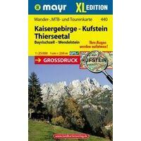 Mayr Wandelkaart 440 Kaisergebirge & Kufstein
