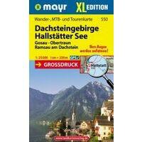 Mayr Wandelkaart 550 Dachsteingebirge XL