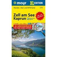 Mayr  Wandelkaart 574 Zell Am See XL