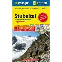 Mayr Wandelkaart 418 Stubaital XL