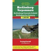 Freytag En Berndt Wegenkaart Mecklenburg West Vorpommern