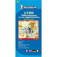 Michelin Stadsplattegrond Lyon