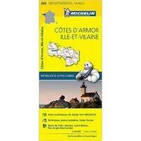 Michelin Wegenkaart 309 Côtes-d'Armor