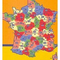 Michelin Wegenkaart 310 Mayenne Orne Sarthe