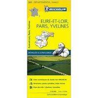 Michelin Wegenkaart 311 Eure-et-Loire