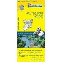 Michelin Wegenkaart 314 Haute-Saône