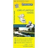 Michelin Wegenkaart 316 Loire-Atlantique
